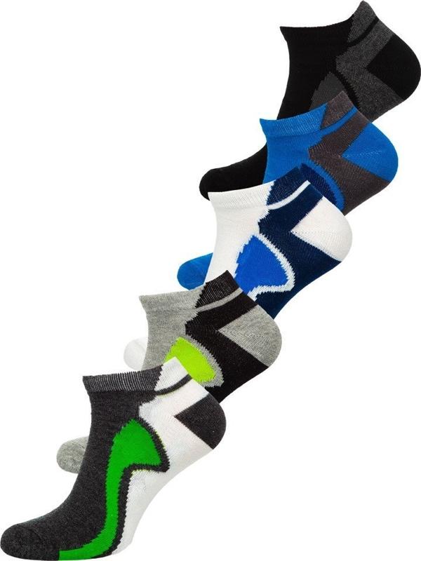 Vícebarevné pánské ponožky Bolf X10049-5P 5 PACK