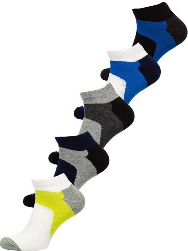 Vícebarevné pánské ponožky Bolf X10059-5P 5 PACK