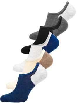 Vícebarevné pánské ponožky Bolf X10170-5P 5 PACK