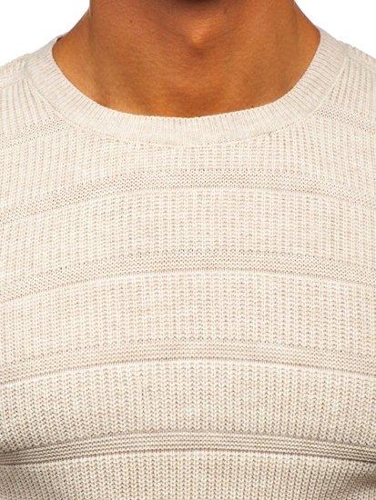 Béžový pánský svetr Bolf 4357