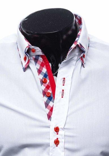 Bílá pánská košile Bolf 0735