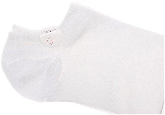 Bílé pánské nízké ponožky Bolf 01