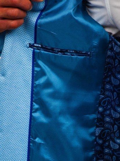 Blankytné pánské sako casual Bolf RBR152