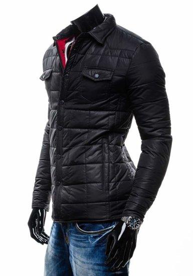 Černá pánská bunda Bolf 002