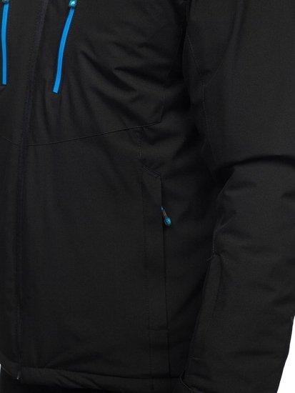 Černá pánská lyžařská bunda Bolf BK193