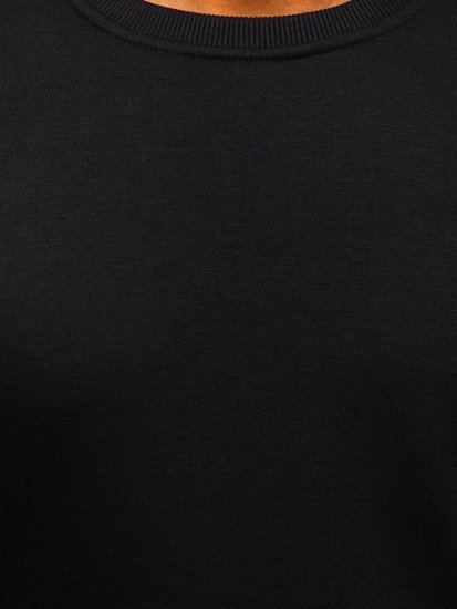 Černá pánská mikina bez kapuce Bolf 2001
