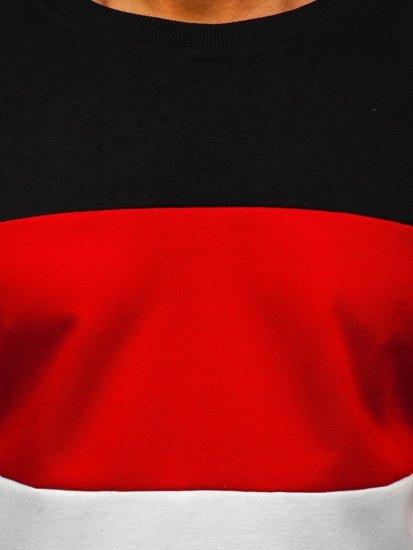 Černá pánská mikina bez kapuce Bolf JZ11052