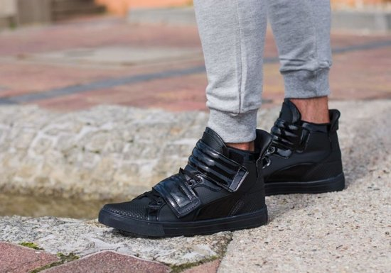 Černá pánská obuv Bolf 3001