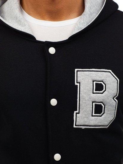 Černá pánská sportovní přechodová bunda Bolf 07S