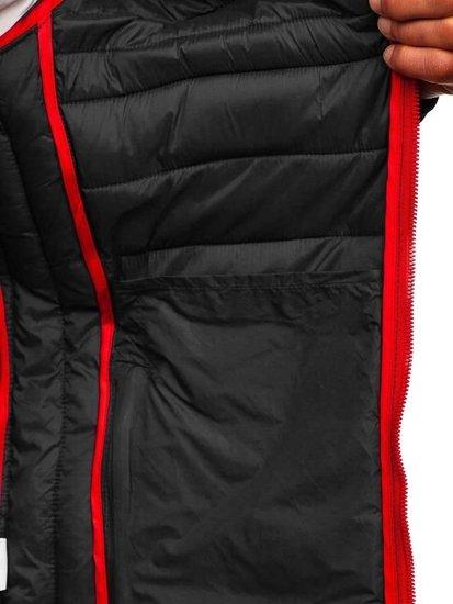 Černá pánská sportovní přechodová bunda Bolf LY1012
