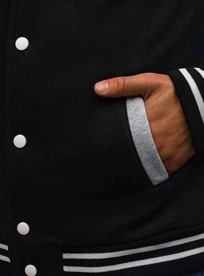 Černá pánská sportovní přechodová bunda Bolf MARC