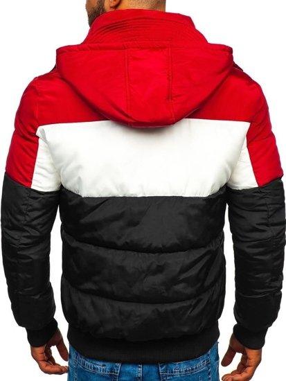 Černá pánská sportovní zimní bunda Bolf JK396