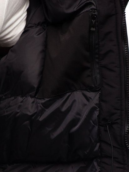 Černá pánská zimní bunda Bolf 201817