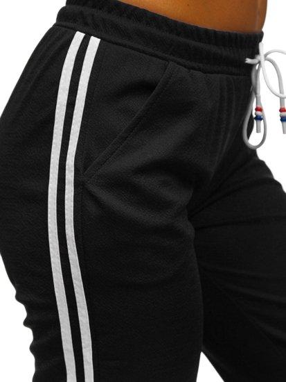 Černé dámské tepláky Bolf YW01020D