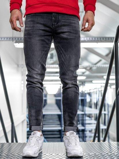 Černé pánské džíny slim fit Bolf KX311