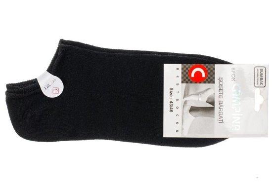 Černé pánské nízké ponožky Bolf 01