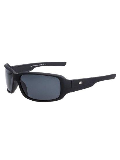 Černé pánské sluneční polarizační brýle Bolf PLS109M
