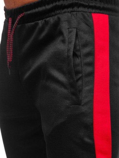 Černé pánské tepláky Bolf JZ11013
