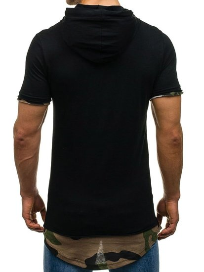 Černé pánské tričko Bolf 1055