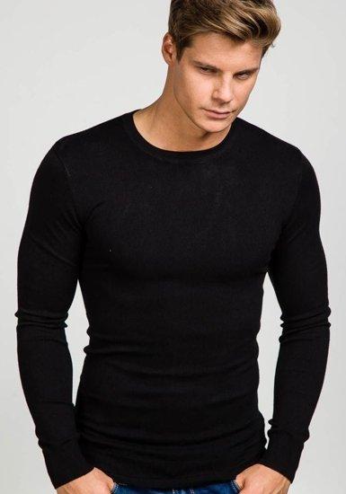Černý pánský svetr Bolf 9001