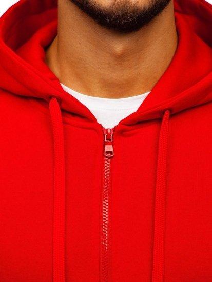 Červená pánská mikina Bolf 2008