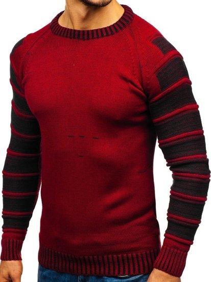 Červený pánský svetr Bolf 6007