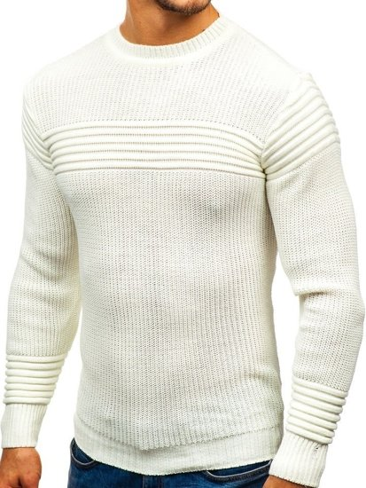 Ecru pánský svetr Bolf 6004