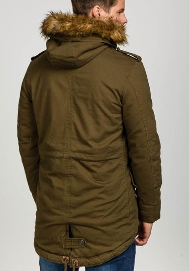 Khaki pánská zimní bunda Bolf 507