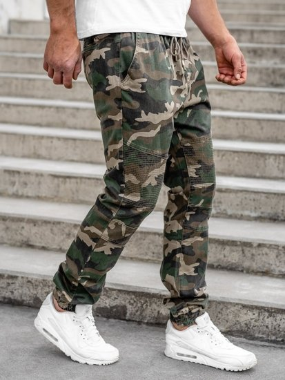 Khaki pánské jogger kalhoty Bolf RB8213XT