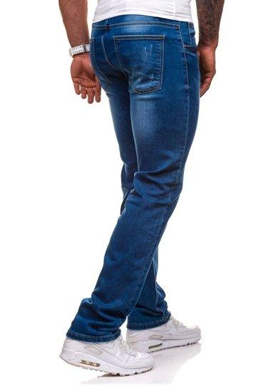 Modré pánské džíny Bolf 4447