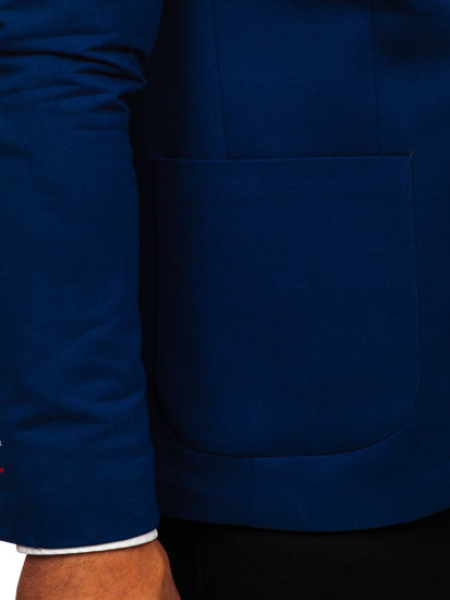 Modré pánské sako Bolf 1652
