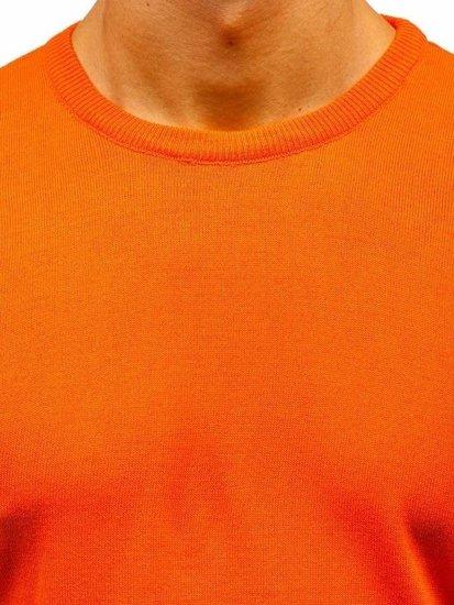 Oranžový pánský svetr Bolf 2300