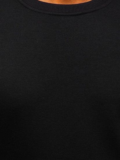 Pánská černá mikina bez kapuce Bolf 2001