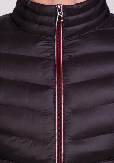 Pánská černá přechodná bunda Bolf 3082