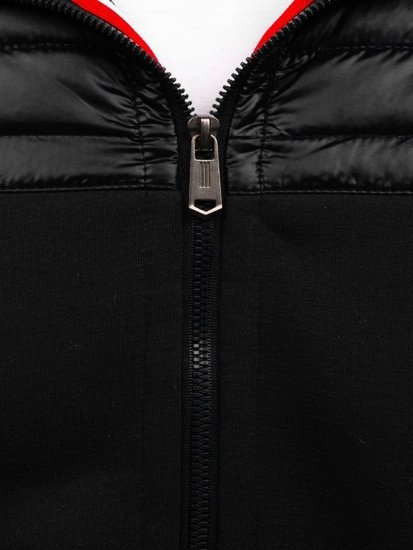 Černá pánská sportovní přechodová bunda Bolf Z403