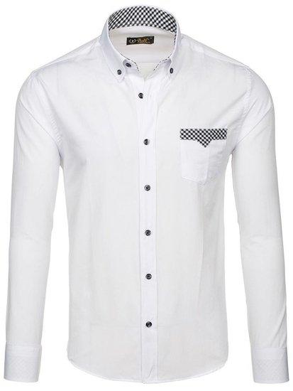 Pánská košile BOLF 4711 bílá