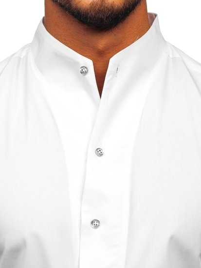 Pánská košile BOLF 5702 bílá