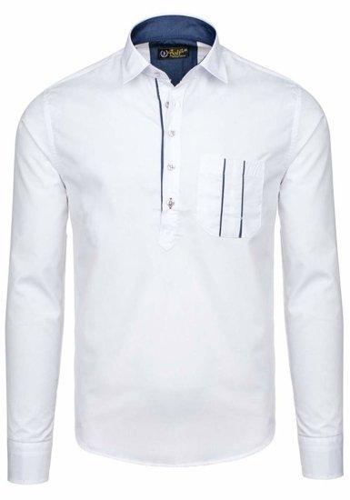 Pánská košile BOLF 5791 bílá