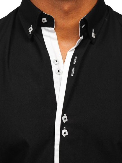 Pánská košile BOLF 5797 černá
