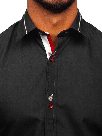 Pánská košile BOLF 5826 černá