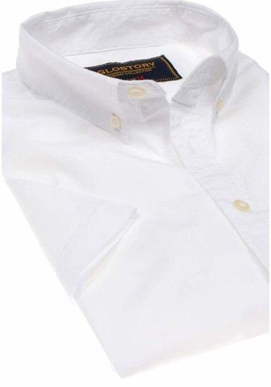 Pánská košile GLO-STORY 8166 bílá