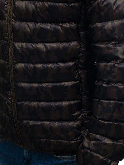 Pánská maskáčovo-khaki přechodná bunda Bolf 3117