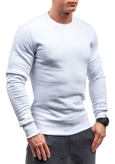 Pánská mikina BOLF 44S bílá