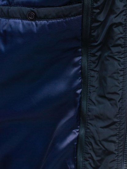 Pánská tmavě modrá přechodná bunda Bolf 3111