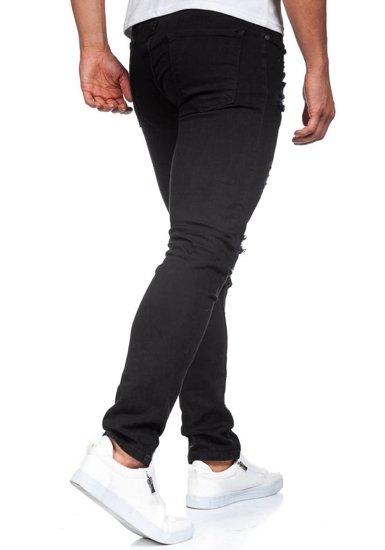 Pánské černé džíny Bolf 396