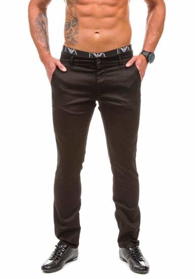 Pánské chino kalhoty JEEL 1562 černé
