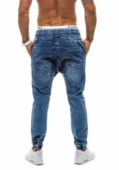 Pánské džínové kalhoty OTANTIK 800 tmavě modré