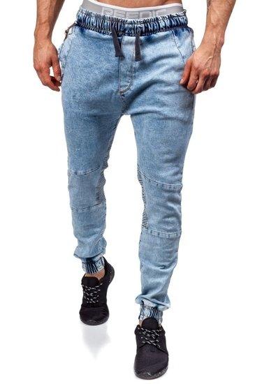 Pánské kalhoty jogger OTANTIK 803 blankytné
