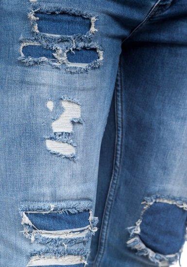 Pánské modré džíny Bolf 377