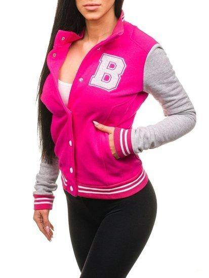 Růžová dámská mikina Bolf 19S